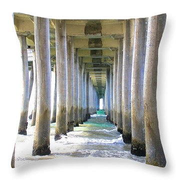 Tranquility 1 Throw Pillow by Margie Amberge
