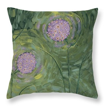Tranquility Throw Pillow by Tanielle Childers