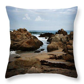 Transcend - Monterey, California Throw Pillow