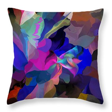 Transcendental Altered States Throw Pillow by David Lane