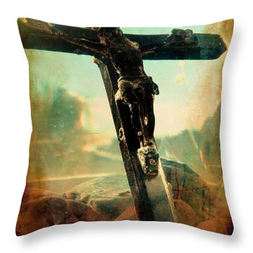 Transcendental Throw Pillow