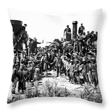 1800s Throw Pillows