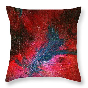 Throw Pillow featuring the painting Transformation by Jacqueline McReynolds