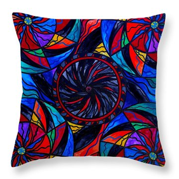 Transforming Fear Throw Pillow