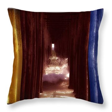 Transforming Waters  Orginal Piece Throw Pillow