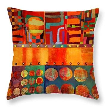 Transit Of Venus Throw Pillow by Elena Nosyreva