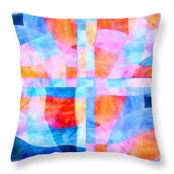 Translucent Quilt Throw Pillow by Carol Leigh