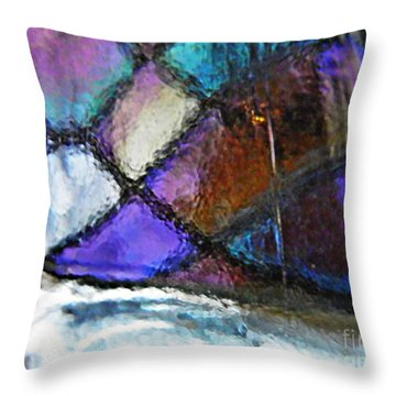 Transparency 2 Throw Pillow by Sarah Loft
