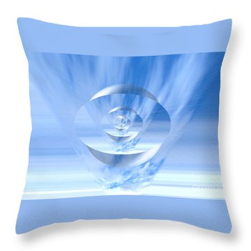 Transparency. Unique Art Collection Throw Pillow