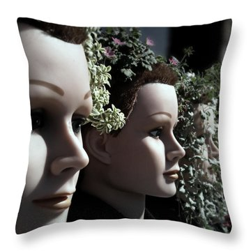 Transplants Throw Pillow