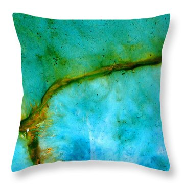 Transport Throw Pillow by Keith Thue