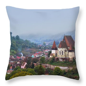 Transylvania Throw Pillow