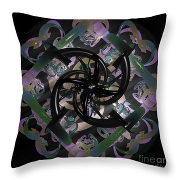 Trapped Emotion Throw Pillow by Sara  Raber