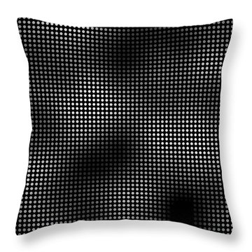 Trapped In The 5th Dimension Throw Pillow by Daniel Hagerman