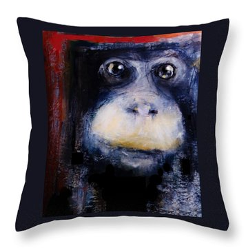 Trapped Throw Pillow by Jean Cormier