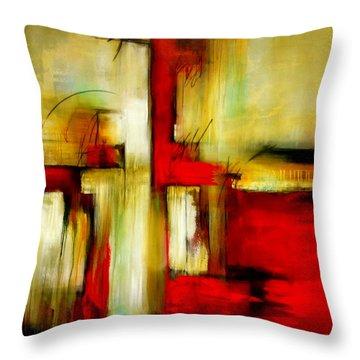 Traspasando Throw Pillow by Thelma Zambrano