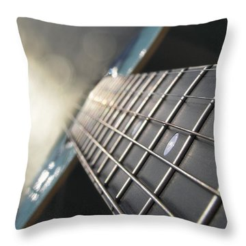 Traveler Of Time And Space Throw Pillow