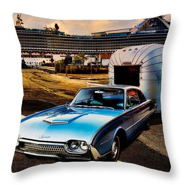 Throw Pillow featuring the photograph Travelin' In Style by Chris Lord