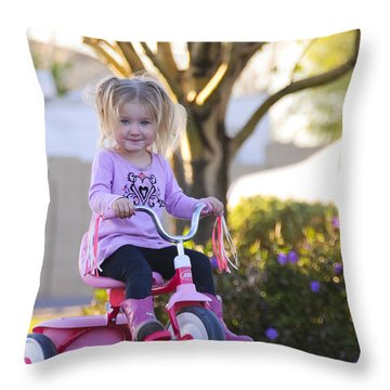 Travelin' Throw Pillow