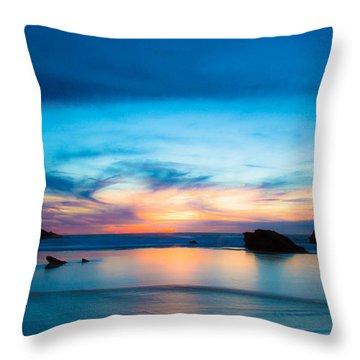 Traveling The Infinite Throw Pillow