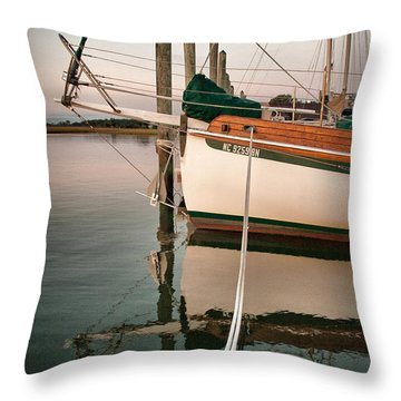 Throw Pillow featuring the photograph Traveler's Rest by Phil Mancuso