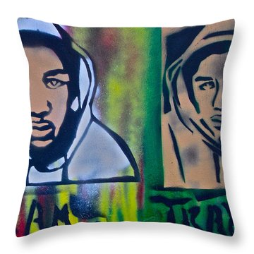 Trayvon Martin Throw Pillow by Tony B Conscious