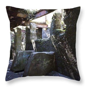Treadwell Mine Interior Throw Pillow