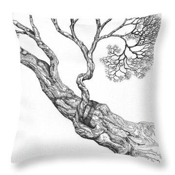 Tree 16 Throw Pillow