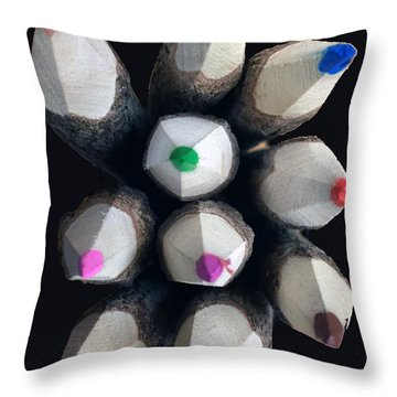 The Pointy Ends Throw Pillow
