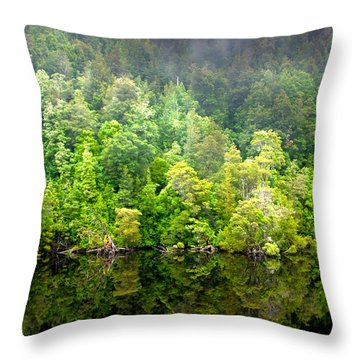 Tree Breath  Throw Pillow