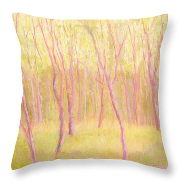Tree Dance Throw Pillow