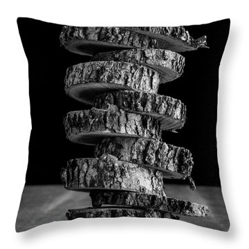 Tree Deconstructed Throw Pillow by Edward Fielding
