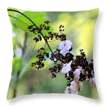 Tree Filigree Throw Pillow