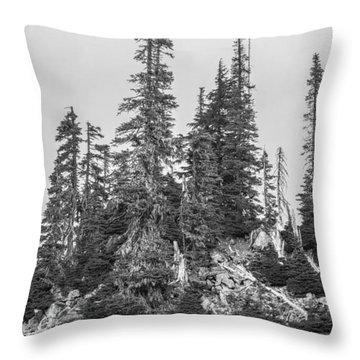 Tree Hill 2 Throw Pillow