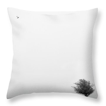 Tree In The Wind Throw Pillow by Mike McGlothlen