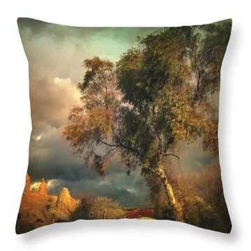 Tree Of Confusion Throw Pillow by Taylan Apukovska