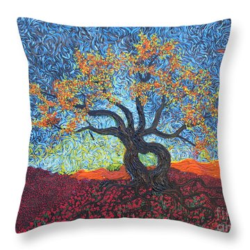 Tree Of Heart Throw Pillow