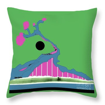 Tree Of Hope Throw Pillow by Ann Calvo