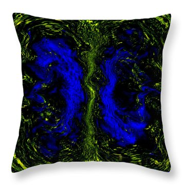 Tree Of Life Throw Pillow by Martina  Rathgens