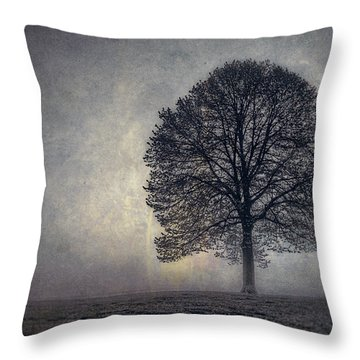 Mist Throw Pillows