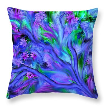 Tree Of Peace And Serenity Throw Pillow