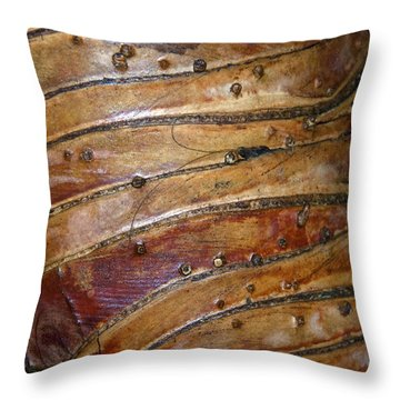 Tree Patterns Throw Pillow