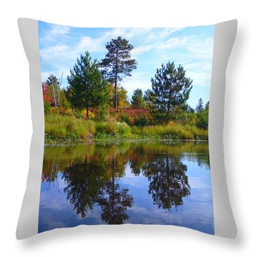 Tree Sisters Throw Pillow