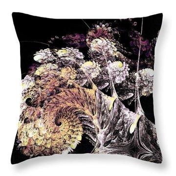 Tree Spirit Throw Pillow by Anastasiya Malakhova