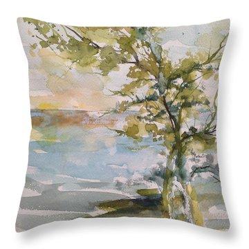 Tree Study Throw Pillow
