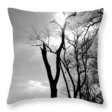 Tree3 Throw Pillow