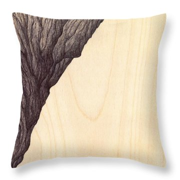 Treerock  Throw Pillow by Giuseppe Epifani