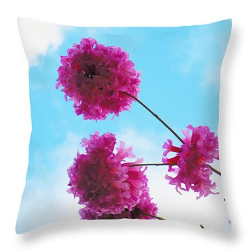 Tree's Fly Throw Pillow