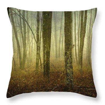 Trees II Throw Pillow