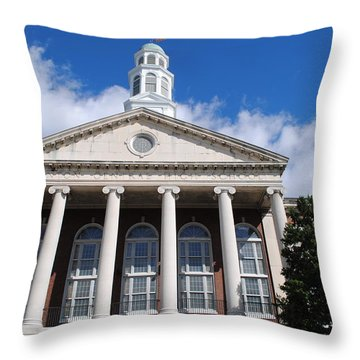 Trenton Central High School Throw Pillow